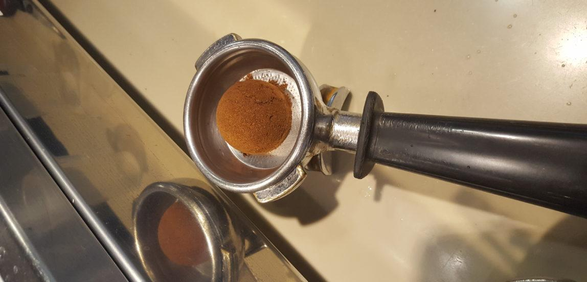 odmierzanie kawy